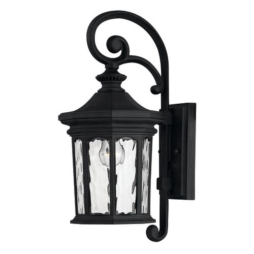 "Hinkley Lighting H1600 16.5"" Height 1-Light Lantern Outdoor Wall Sconce from the Raley Collection"