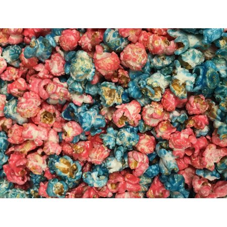 Gender Reveal Popcorn Baby Pink and Blue Mixed Candy Coated Popcorn 3 Gallon Party Bag](Gender Reveal Candy)