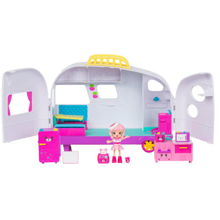 Shopkins Happy Places Doll House Line, Rainbow Beach Camper Van (Camper Van Sink)