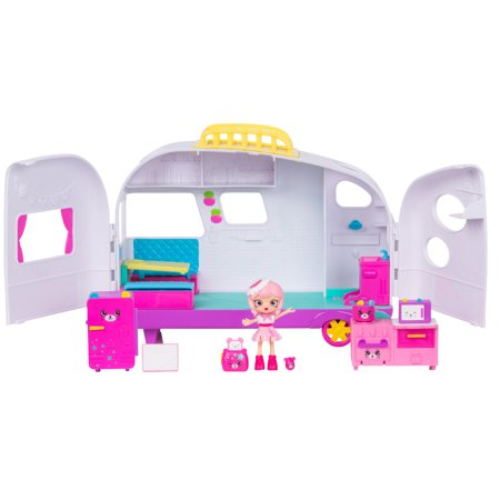 Shopkins Happy Places Doll House Line, Rainbow Beach Camper Van