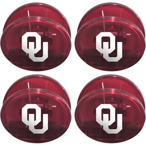NCAA Oklahoma Sooners Magnetic Chip Clip Set, 4pk