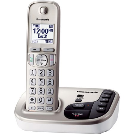 Panasonic KX-TGD220N Expandable Digital Cordless Answering System with 1 Handsets by