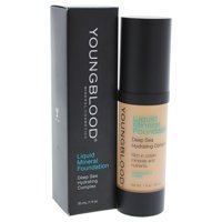 Liquid Mineral Foundation - Golden Tan by Youngblood for Women - 1 oz Foundation