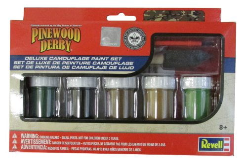 Revell Camo Paint and Brush Set by Revell