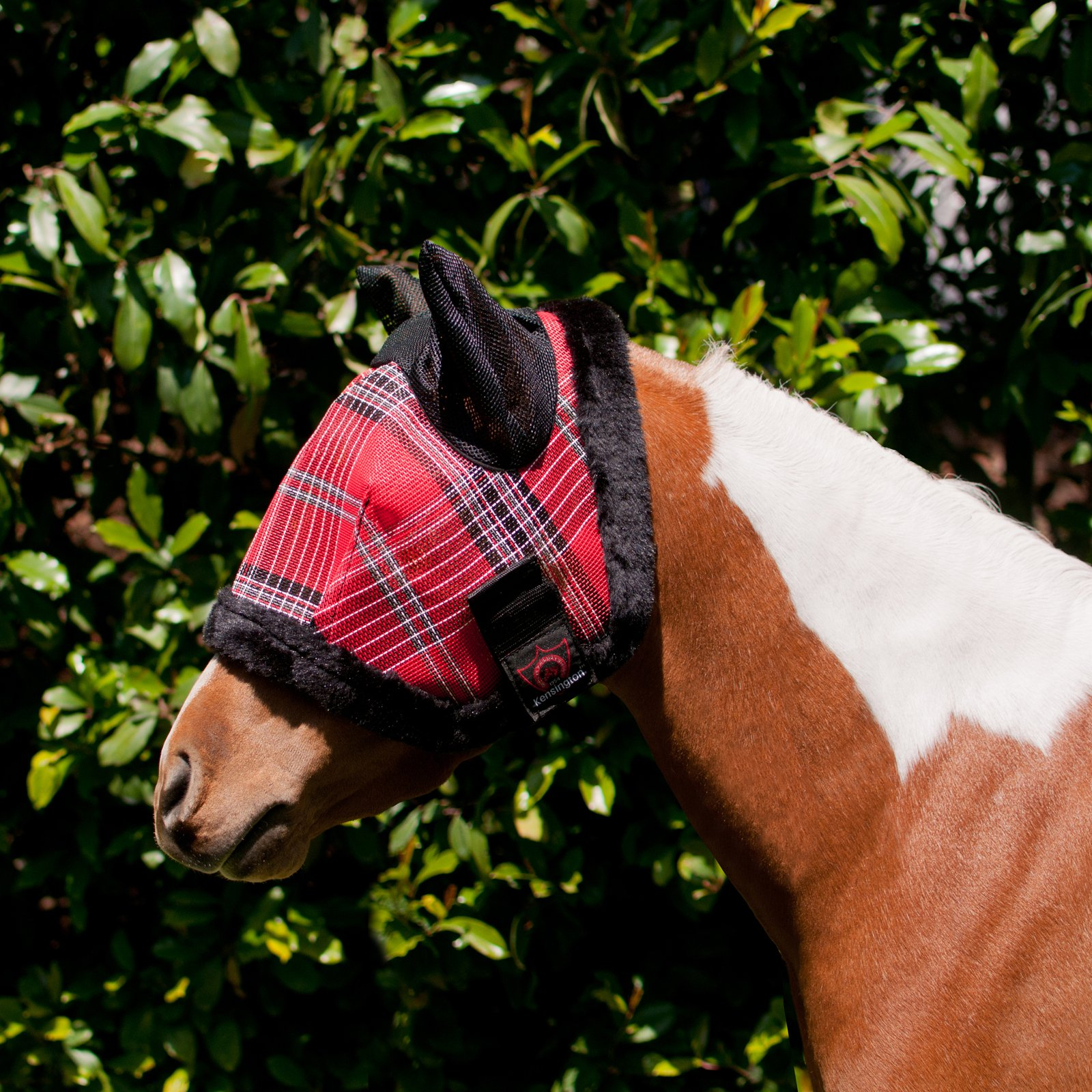 Kensington Protective Products Mini Fly Mask with Fleece And Soft Mesh Ears