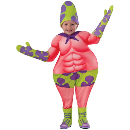 Toddler SpongeBob Movie Superawesomeness Patrick Costume by Rubies 510055