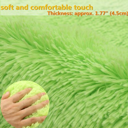 """❤ 32""""x20""""x1.8"""" Multicolors Non-slip Absorbent Soft Thick Plush Bath Mat Bathroom Floor Shower Quick Drying Rubber Luxury Anti-skid Mat Pad Rug 8 Colors ❤ - image 4 of 10"""