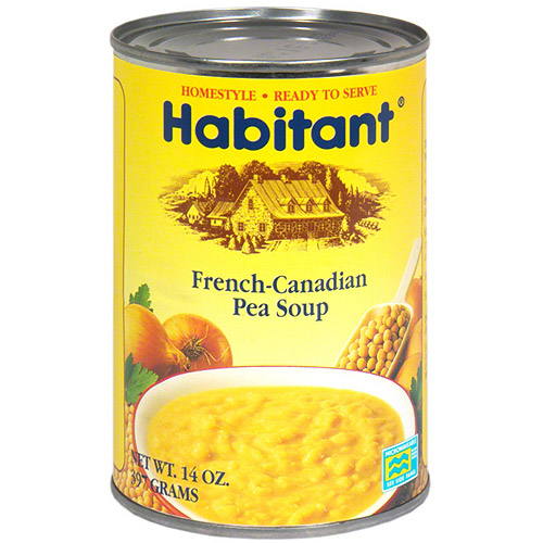 ***Discontinued by KEHE***Habitant French-Canadian Pea Soup, 14 oz (Pack of 12)