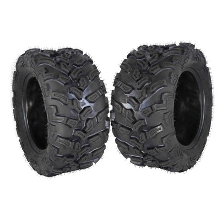 MASSFX 2 Set ATV Tires 26X11-14 Rear Durable Dual Compound 6 Ply - Dual Compound