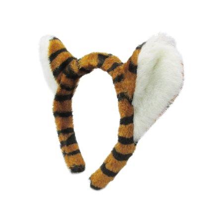 Jacobson Hat Company Ear Hat Tiger Plush Headband Animal Headpiece Costume Hat](Tiny Hat Headband)