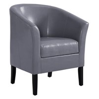 Linon Home Simon Club Chair, Multiple Colors