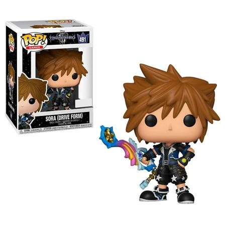 Pop Kingdom Hearts: Sora (Drive Form) Collectible Figure, - Halloween Sora