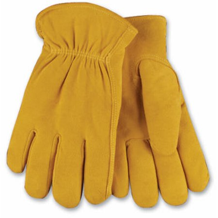 903HK XL Extra-Large Men's Full-Suede Deerskin Leather Gloves - Quantity 1 (Deerskin Leather Driving Gloves)