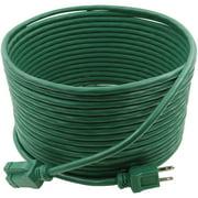 PRIME EC880627 16/3 SJTW Landscape Extension Cord, 35 Feet (Green)