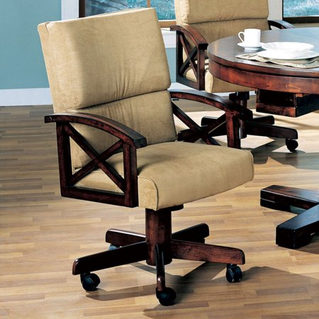 Casual Wood (Coaster Company Marietta Game Chair.)