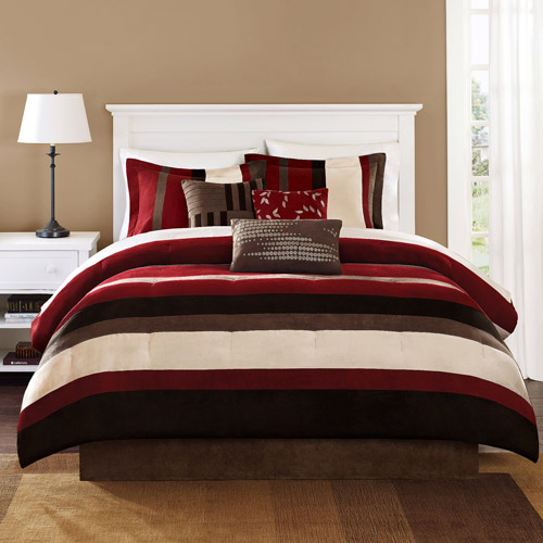 Home Essence Uptown Stripe Bedding Comforter Set