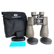 Cassini 20 x 60mm Day and Night Binocular brings images 20 x closer with exra large 60mm Objective lens for bright and wide views of the Moon. Tripod Port and Shoulder Case