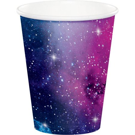 Creative Converting Galaxy Party Hot/Cold Paper Cups 9 Oz., 8 - Galaxy Cup