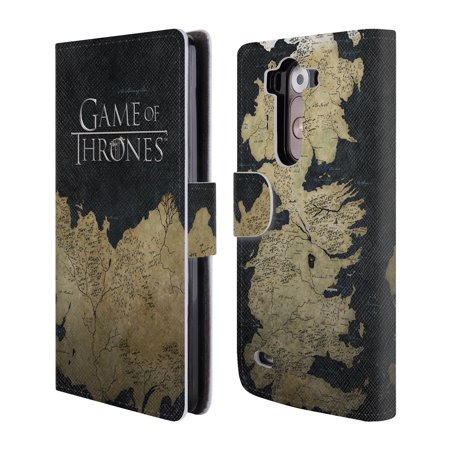 Official Hbo Game Of Thrones Key Art Leather Book Wallet Case Cover For Lg Phones 1