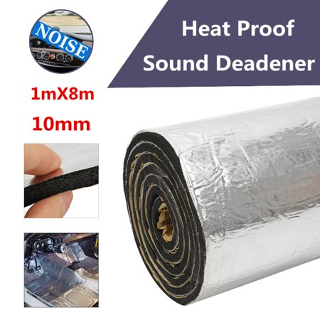 Moaere 86sqft 10mm Sound Deadener Car Heat Shield Lightweight Thermal Insulation Deadening Material
