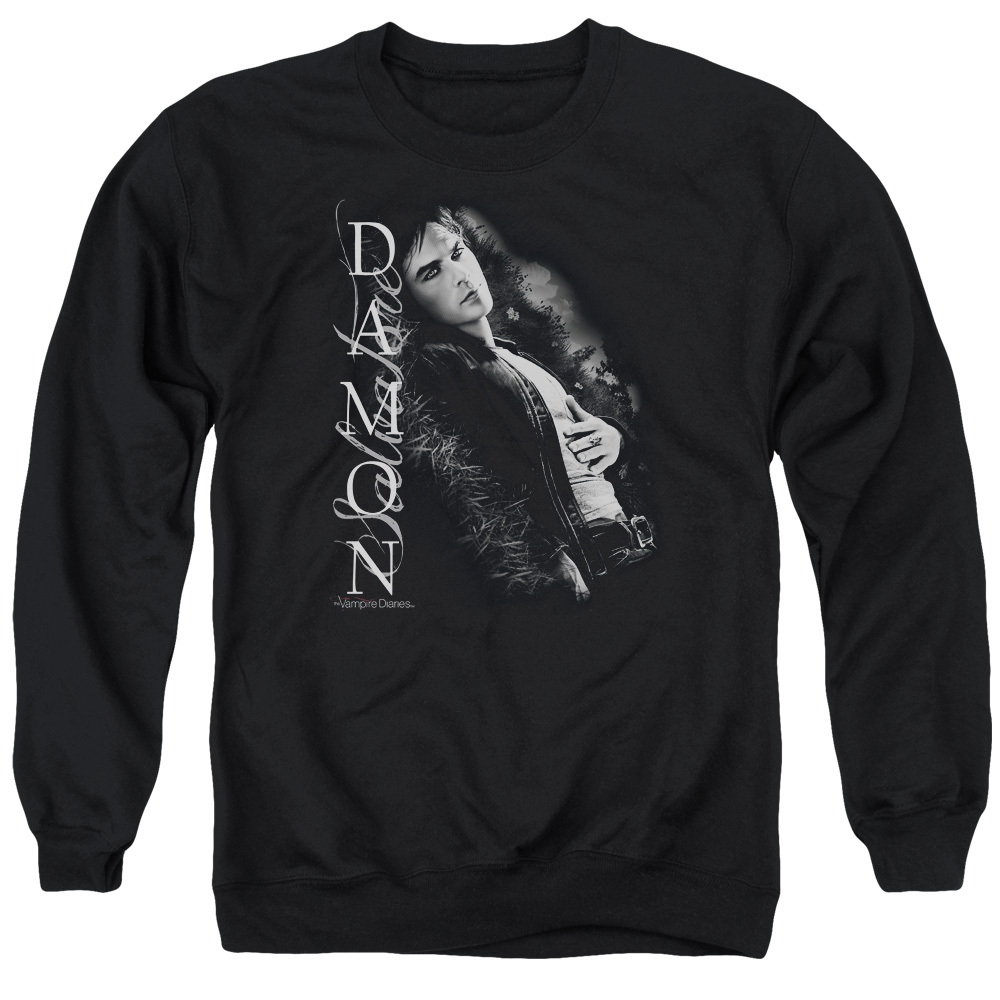 Vampire Diaries Besides Me Mens Crewneck Sweatshirt