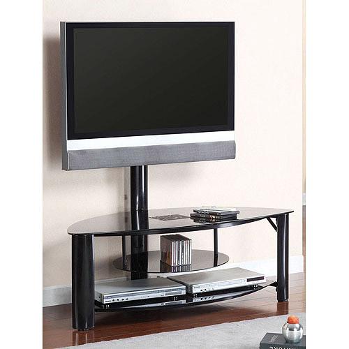 """Venetian Fendy Black TV/Entertainment Center for TVs up to 60"""""""
