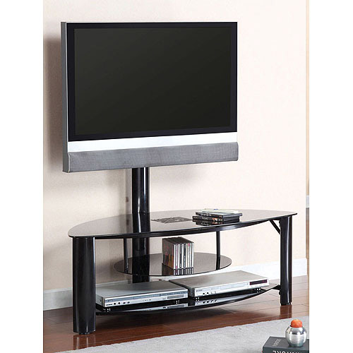 Venetian Fendy Black TV/Entertainment Center for TVs up to 60""