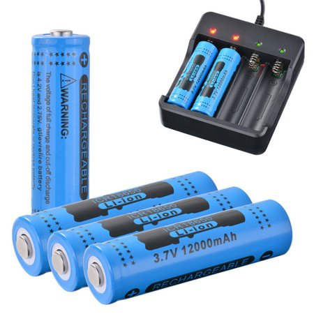 GTL Rechargeable Battery 18650 3.7V 12000mAh High-Capacity Power Supply Flashlight Li-ion Battery Lithium Battery 01 Lithium Ion Rechargeable Battery
