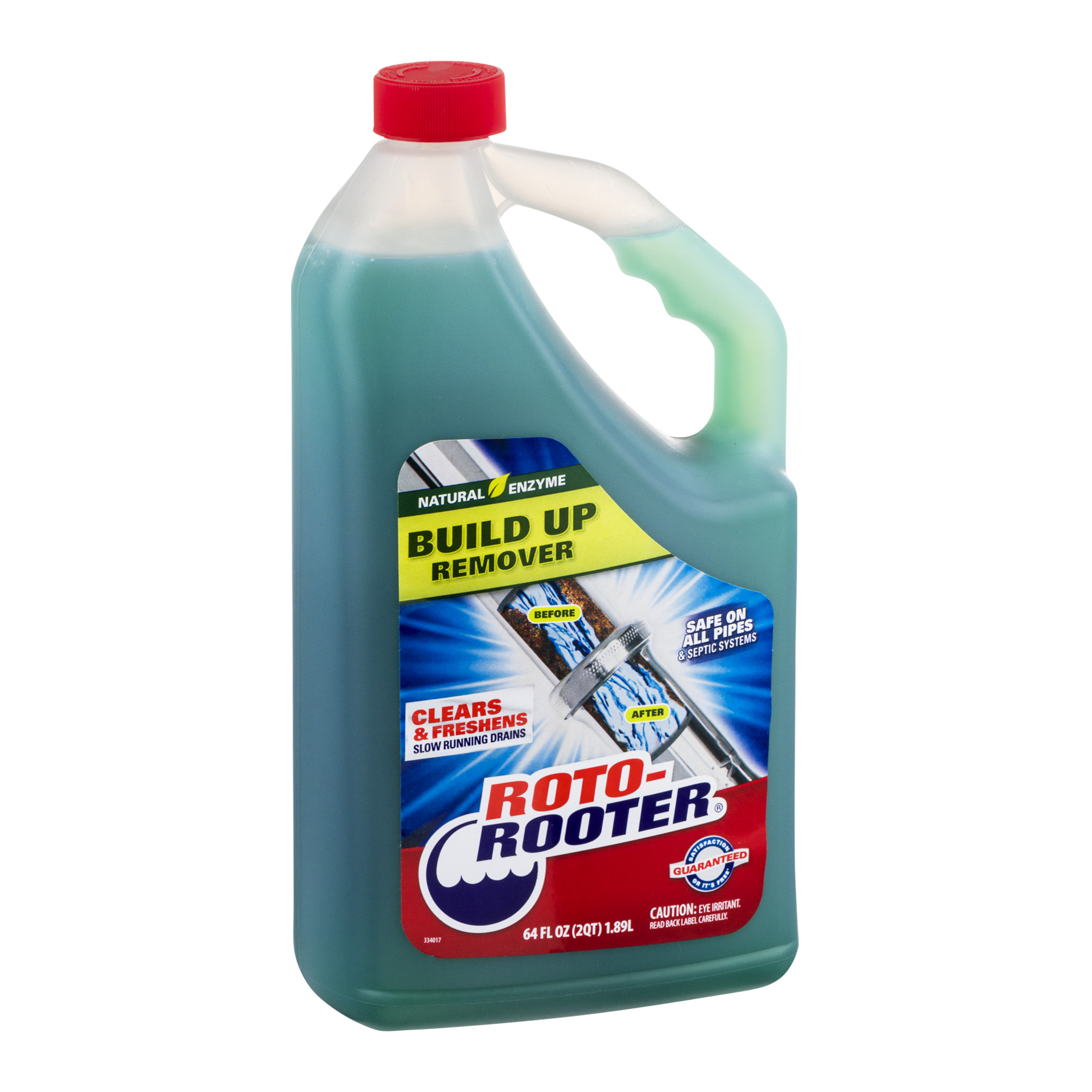Roto-Rooter Build Up Remover, 64.0 FL OZ - Walmart.com