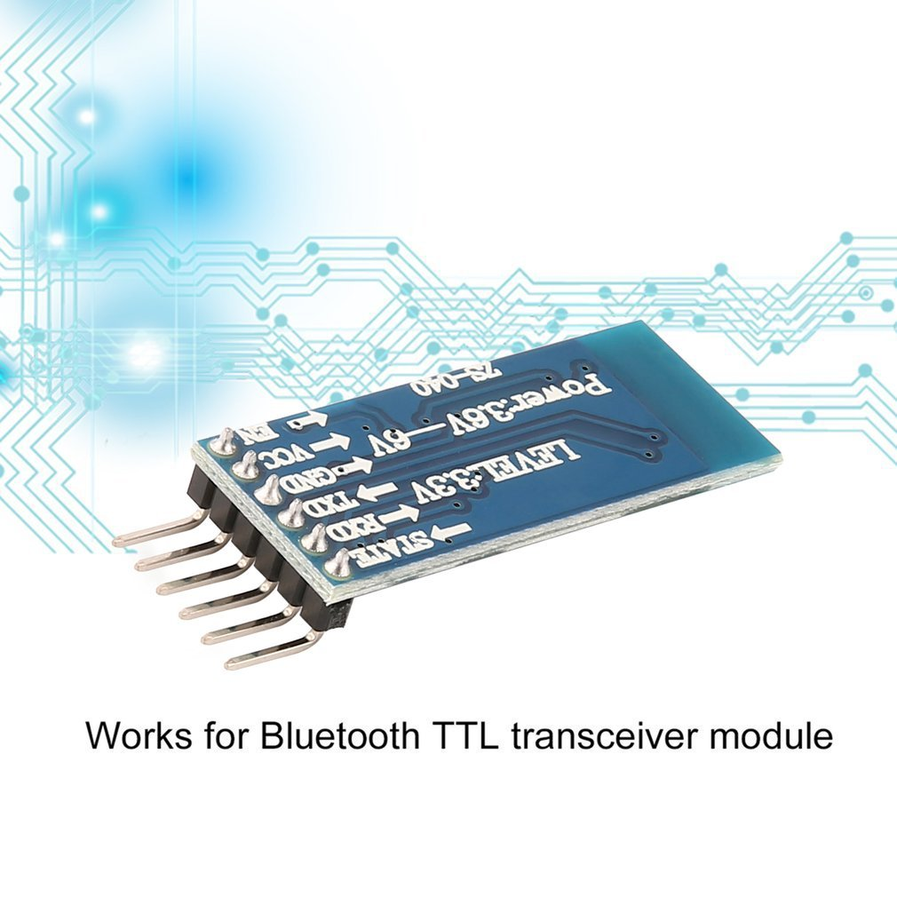 Interface Base Board Serial Transceiver For Bluetooth Module Arduino