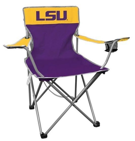 Louisiana State University LSU Tigers Kickoff Quad Chair   Tailgate    Camping