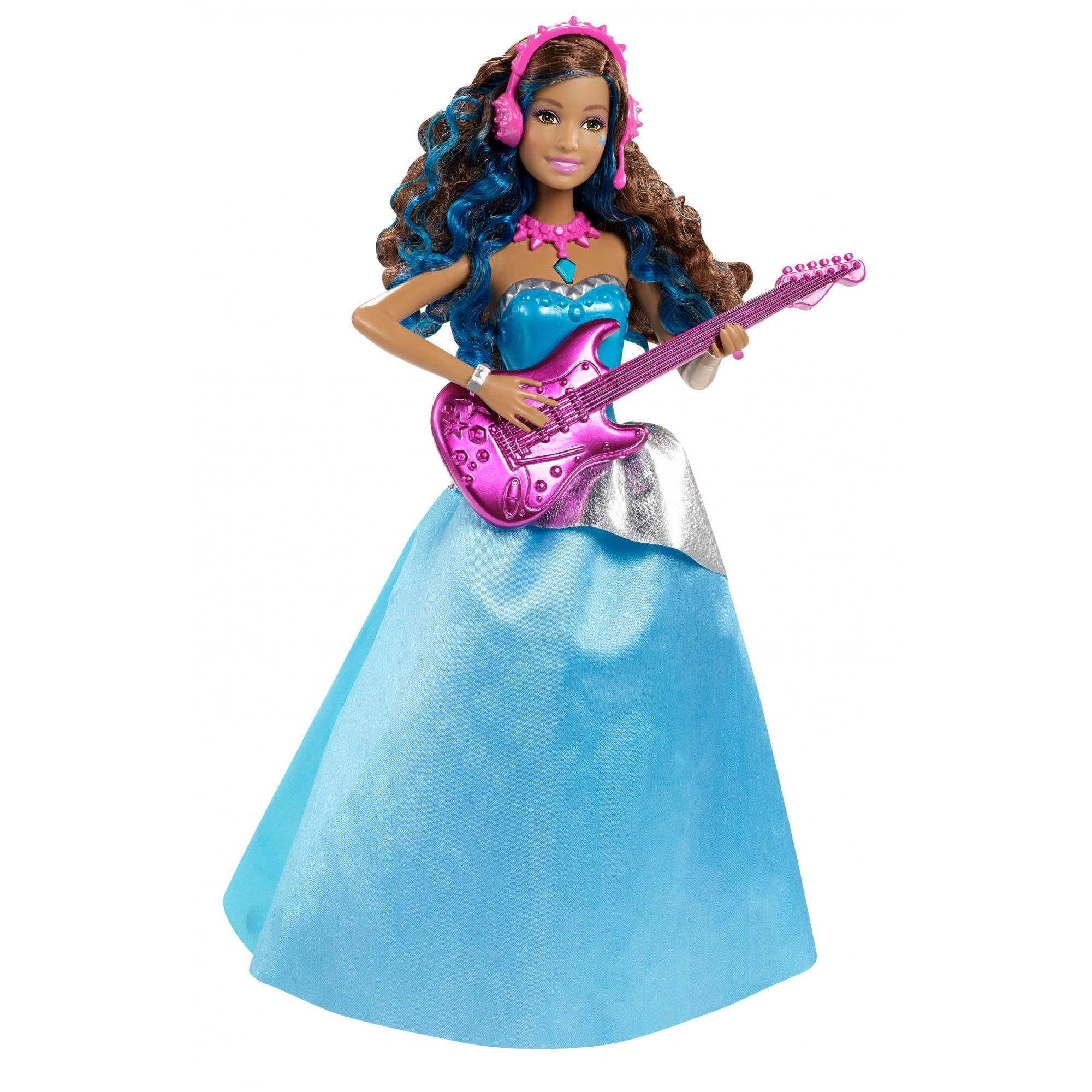 Barbie Rock N Royals Erika Doll - Walmart.com