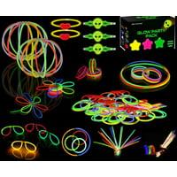 Glow Stick Bracelets Party Pack 234 Pieces Glow Sticks Bulk 8'' 2 pack