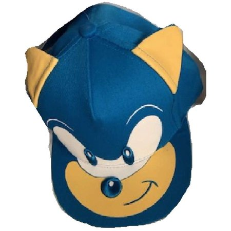 Baseball Cap Sonic The Hedgehog Blue Face Head Hat Boys Hat 729727 Walmart Canada