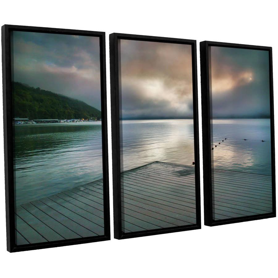 "ArtWall Steve Ainsworth ""At Ease"" 3-Piece Floater-framed Canvas Set"