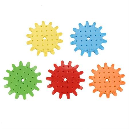 Qiilu 81Pcs/Set Educational Electric Puzzle Kids Children Plastic DIY Building Blocks Funny Toys, Kids Puzzle Toy, Educational Puzzle Toy - image 4 of 13
