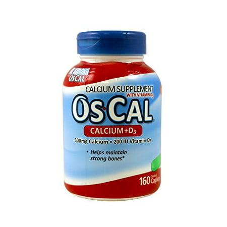Oscal 500 + 200d Size 160ea Oscal 500 + 200d 160ea -  GlaxoSmithKline