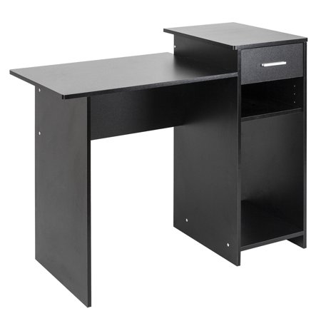 High-quality Computer Desk, Integrated Melamine Board Computer Desk,Stylish & Affordable Student Computer Homework Desk, Great for Dorms or Apartments, Features Drawer ()