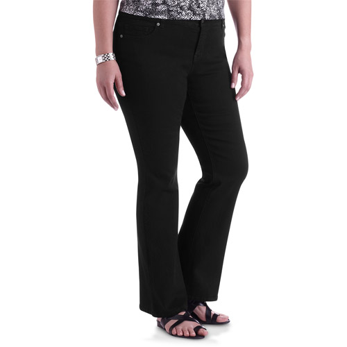Faded Glory Women's Plus-Size Flare Jeans