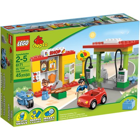 Lego Duplo Ville My First Gas Station Play Set Walmart Com