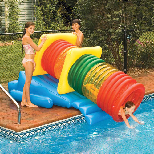 Inflatable Water Park Swimming Pool Slide