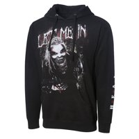 "Official WWE Authentic The Fiend Bray Wyatt ""Let Me In"" Pullover Hoodie Sweatshirt Multi Small"