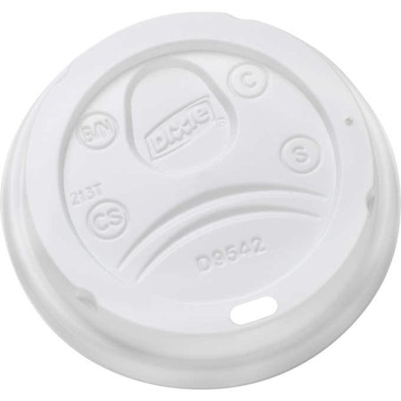Dixie TO GO White Domed Hot Cup Lid, 500 Count (FIT 10 , 12 ,16 OZ -