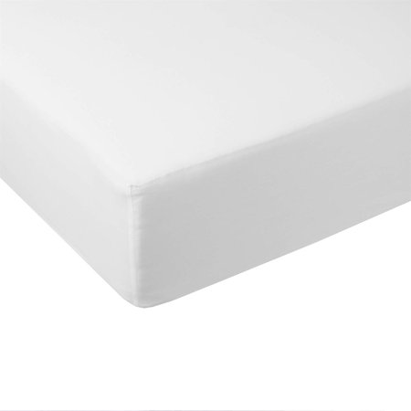 - Softest Queen Fitted Sheet 100% Bamboo Viscose 600 Thread Count - White