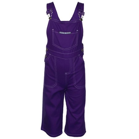 Game Bibs Toddler Overalls - Purple