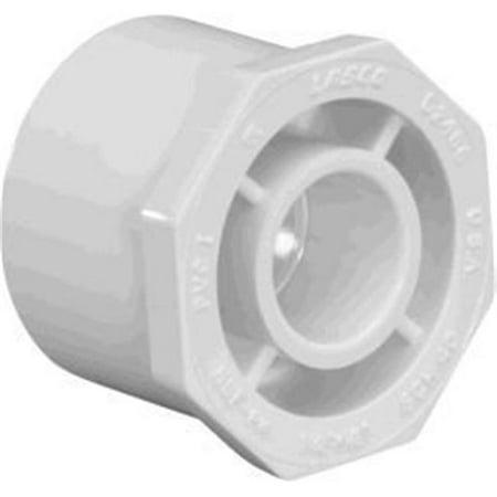 4 x 3 in. PVC Pipe Reducer Bushing, Schedule 40 -