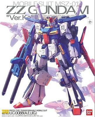 MG ZZ Gundam Model Kit [Ver. Ka] by Bandai Hobby