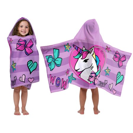 Nickelodeon Jojo Hood Bath Towel, 1 Each