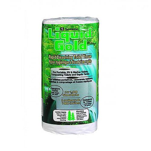 Sanitation Equipment Rapid Dissolving Toilet Tissue 2 Pack by Sanitation Equipment