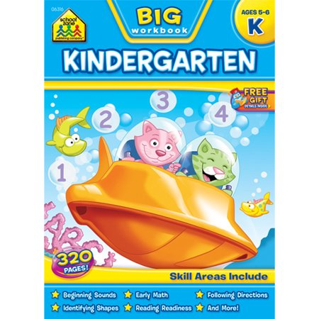 Big Workbook-Kindergarten - Ages - Halloween Crafts For 5-6 Year Olds